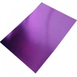 BY The Sheet... A4 Purple MIRROR CARD, Fine Grade