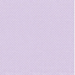 12 x 12 Small White dots on Pale Purple, Lilac,  Polka Dot Paper