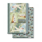 THE PAVILLION END Die Cut Toppers & Backing Card Pack VINTAGE SPORTS