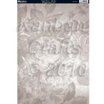 A4 Cardstock. 300gsm. Floral Print VOGUE ROSE-Mocha CRD1199