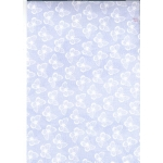 A4 Cardstock. 300gsm. WHITE BUTTERFLIES - Blue CRD1519