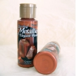 DecoArt Acrylic Paint.  59ml.  Dazzling Metallics.  COPPER