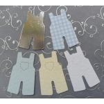 15 Diecut ROMPER suits. New Baby, Christening