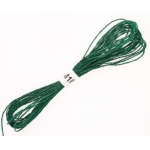 GREEN Metallic Embroidery Thread 8m of 12ply