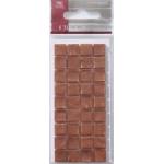Mosaic Tile Embellishments COPPER RUST Self-adhesive 10mm