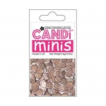 Craftworkcards CANDI Minis, Antique Newsprint, Legless Brads, 4g Pack