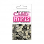 Craftworkcards CANDI Minis, Ritz, Legless Brads, 4g Pack