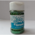 60g Chunky GLITTER Pot, GREEN