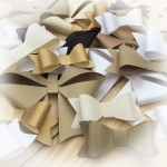 RIBBON & BOW Kit - Neutrals  Create 108 bows with this pack