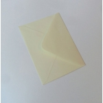 Pack 50 C6 Envelopes CREAM 100gsm 114mm x 162mm