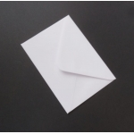 Pack 50 C6 Envelopes WHITE 100gsm. 114mm x 162mm