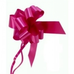 large Pull Bow 50mm wide ribbon, Cerise Pink