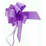 large Pull Bow 50mm wide ribbon, Lavender