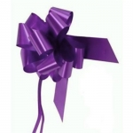 large Pull Bow 50mm wide ribbon, Dark Purple