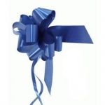 large Pull Bow 50mm wide ribbon, Blue