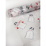 5m Cellophane, Christmas Snowmen