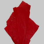 TISSUE Paper Pack. RED. 10 Large Sheets. ACID FREE