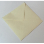 "Pack 20 Square 6""  Envelopes CREAM 100gsm 155mm x 155mm"