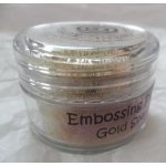 Cosmic Shimmer Embossing Powders, GOLD SPARKLE  20ml pot