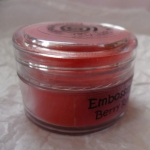 Cosmic Shimmer Embossing Powders RED BERRY AURORA  20ml pot