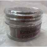 Cosmic Shimmer Embossing Powders COCO BEAN AURORA  20ml pot