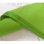 Felt Sheets, Square 30cmx30cm (12x12) SPRING GREEN