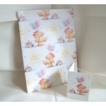 Gift Wrap Pack. 2 Lge Sheets & 2 Tags. BIRTHDAY / FOREVER FRIENDS