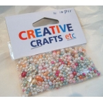 Pack of PASTEL BEADS, Assorted