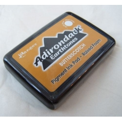 Adirondack Earthtones by Ranger BUTTERSCOTCH Raised Foam Pigment Ink Pad