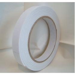 Double Sided Sticky FOAM tape 15mm x 2mm x 2m roll