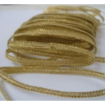 5.4m GOLD LUREX Ribbon Pack. 4mm wide.