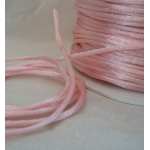 By the Metre, ROSE PINK Satin RATTAIL RIBBON Cording 2mm