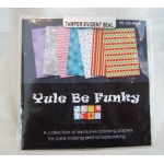 CD Rom. YULE BE FUNKY by Funky Hand. Christmas Backing Papers etc