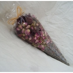 large VICTORIAN CONE Pot Pourri - Beautiful! Lavender & Roses