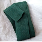 Pack 10m JUTE RIBBON 7cm wide.  FOREST GREEN