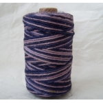 Large Reel NATURAL JUTE String. PURPLE & LILAC. 125g