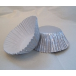 "CupCake Cases Paper 2"" base, SILVER PEARL finish"