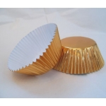 "CupCake Cases Paper 2"" base, GOLD FOIL finish"