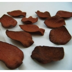 Paper Petals. Bridal. Window/Table Dressing.  CHOCOLATE BROWN. Thick handmade papers