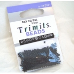 Seed Beads 8g BLACK, Trimits by Impex