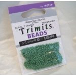 Seed Beads 8g GREEN, Trimits by Impex