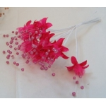 Bundle BABY'S BREATH Flowers.  FUCHSIA PINK