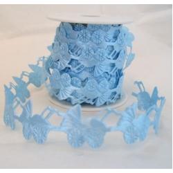 1m Padded Motif Ribbon. PRAM / BLUE. (39