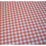 "12"" x 12"" Paper. GINGHAM. Small check. RED & WHITE"