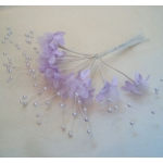 Bundle BABY'S BREATH Flowers. LILAC
