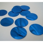 "Large Round Sequins 24mm (1"") ROYAL BLUE"