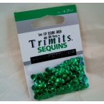 Pack of Cup Sequins 5mm GREEN, 500pces