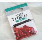 Pack of Cup Sequins 5mm RED, 500pces