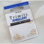 Jump Rings GOLD 5mm
