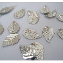 Mini Leaf Sequins SILVER Sew, Craft, Table Confetti